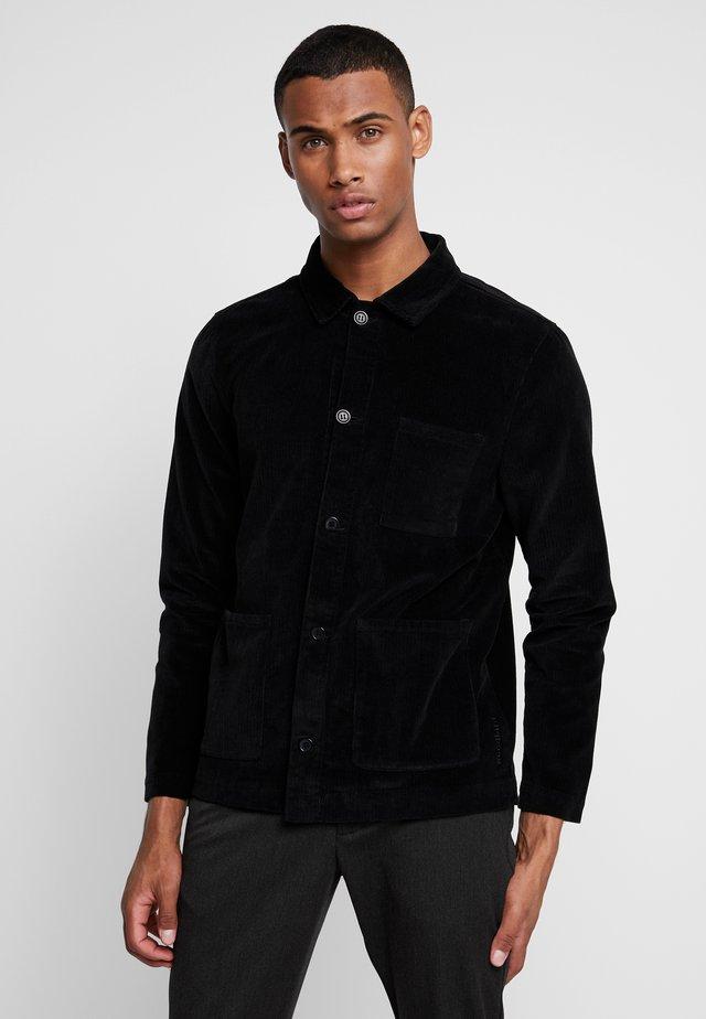 BOBO JACKET - Summer jacket - black
