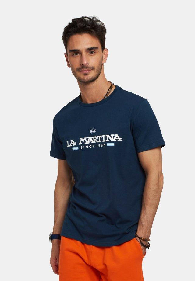RANDAL - T-shirt con stampa - dark blue