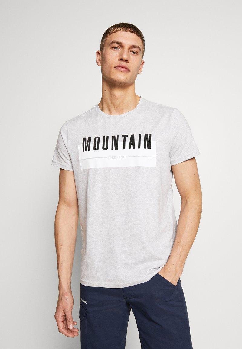 Bogner Fire + Ice - FOX - T-shirt print - mottled grey