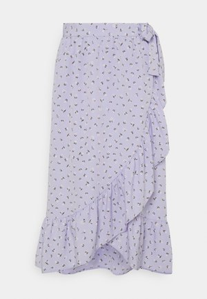 MARY LOU SKIRT - Falda acampanada - lightpurple