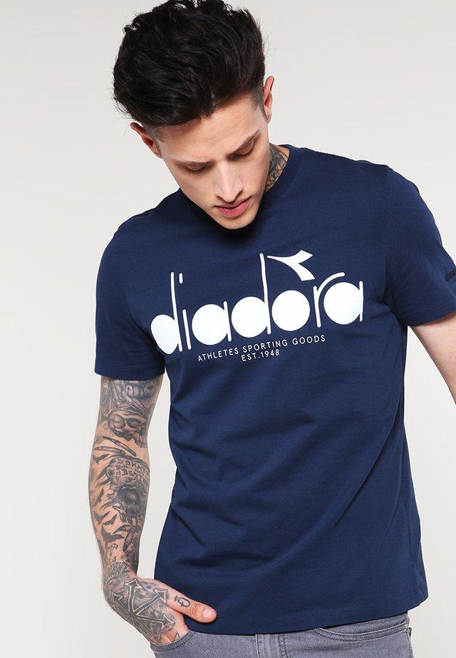 T-shirt imprimé - blue denim
