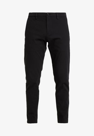 SMART FLEX TAPERED - Chinos - black