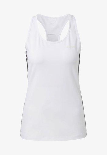 TANK - T-shirt sportiva - white/black