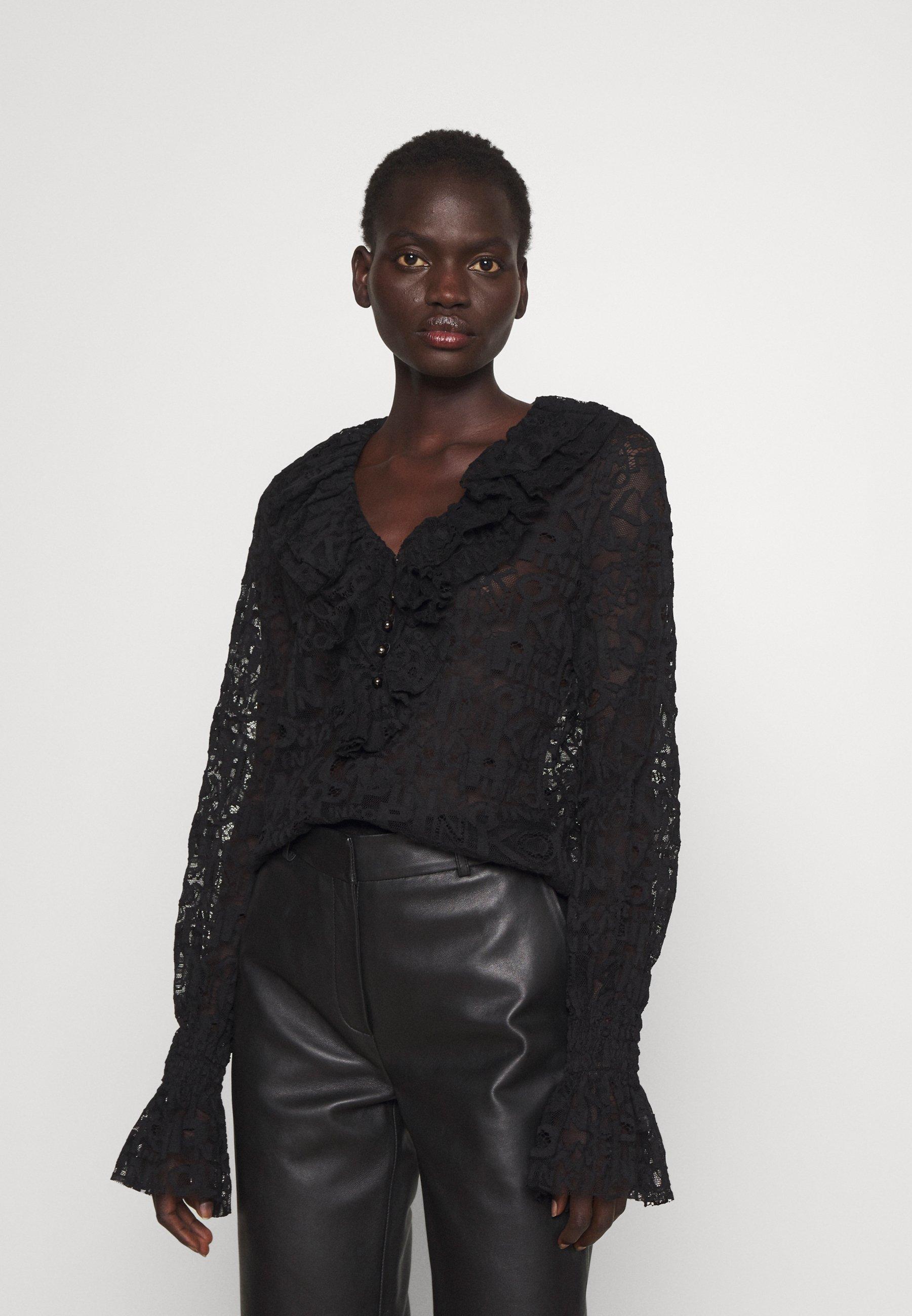 Women HIERROS BLUSA LOGATO - Long sleeved top