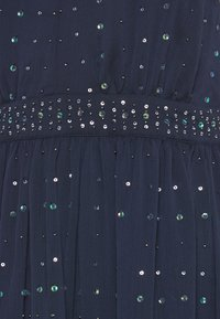 Vila - VICELOSIA SEQUIN STRAP ANKLE - Suknia balowa - navy blazer - 5