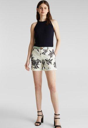 CHINO-SHORTS MIT LYCRA XTRA LIFE™ - Shorts - white