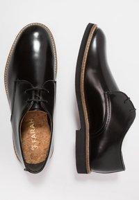 Farah - SAINT - Smart lace-ups - black - 1