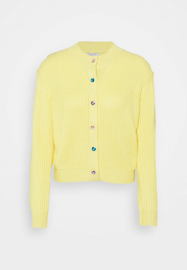 DEE CARDIGAN - Cardigan - yellow