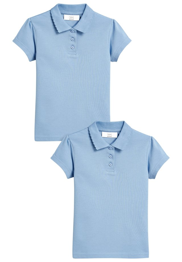 TWO PACK - Poloshirt - blue