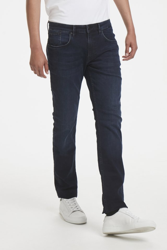 PRISTON  - Slim fit jeans - dark denim