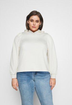 PCLINLEY HODDIE - Sweatshirt - cloud dancer