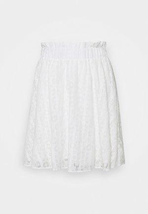 YASLINI SKIRT - Mini skirt - eggnog