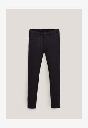 Pantalon classique - blue-black denim