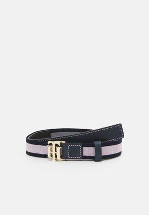 LOGO KIDS ELASTIC BELT - Belt - pink