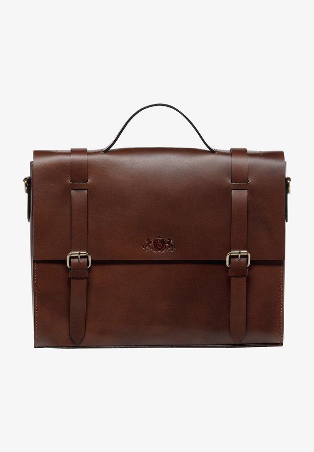 BOSTON-BIKE - Briefcase - braun