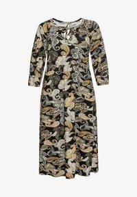 Sheego - Maxi dress - schwarz gemustert - 4