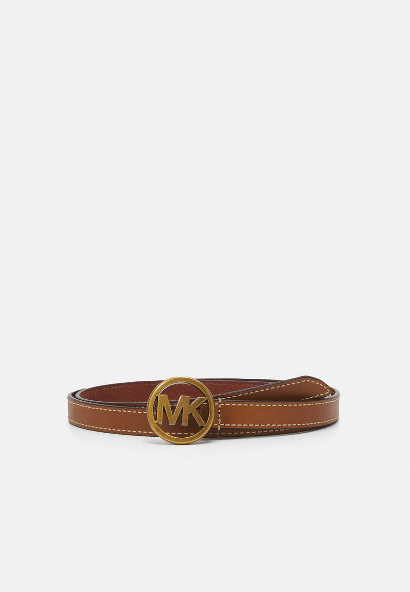 MICHAEL Michael Kors - FLIP TIE BELT - Belt - luggage