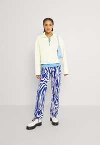 Monki - Relaxed fit jeans - rave blue - 1