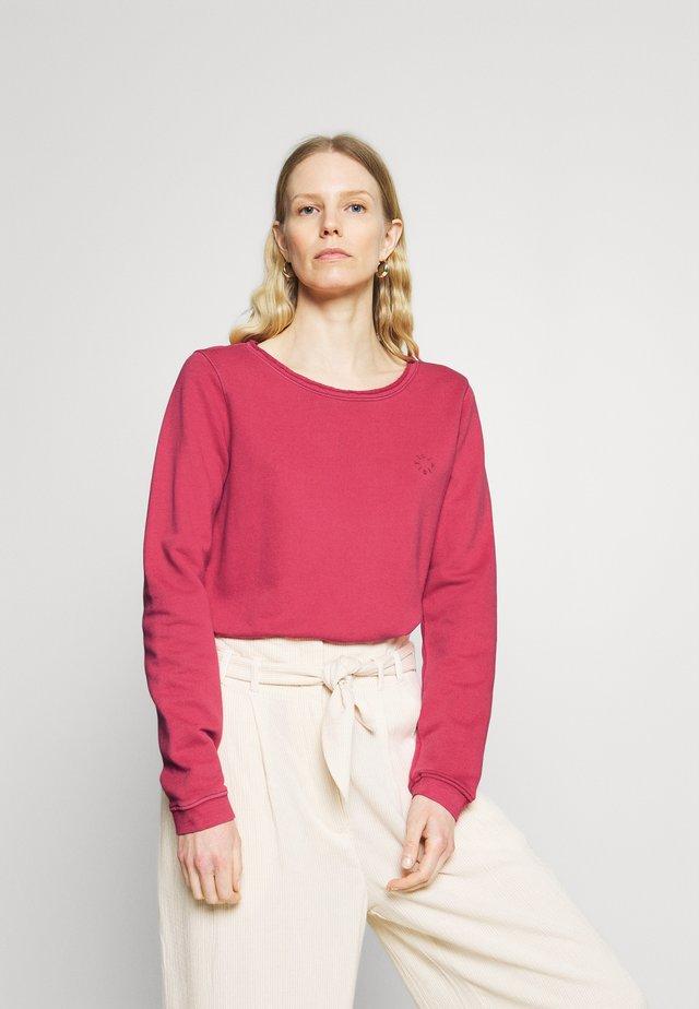 Sweatshirt - rusty red
