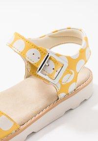 Clarks - CROWN BLOOM - Sandals - yellow - 2
