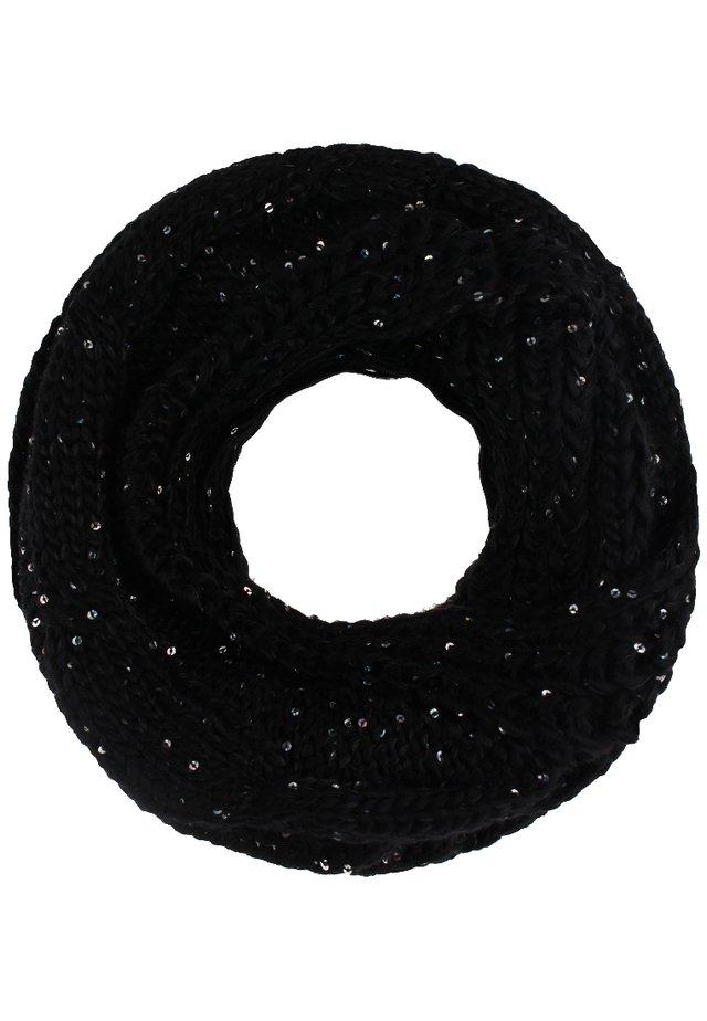 Écharpe tube - schwarz