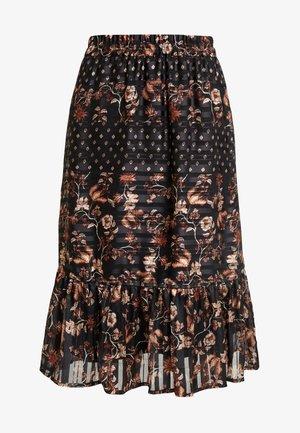 NILJANA SKIRT - A-line skirt - pitch black
