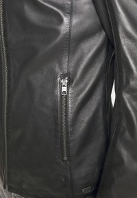 Tigha - DENZEL - Leather jacket - black - 5