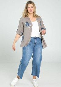 Paprika - Button-down blouse - taupe - 1