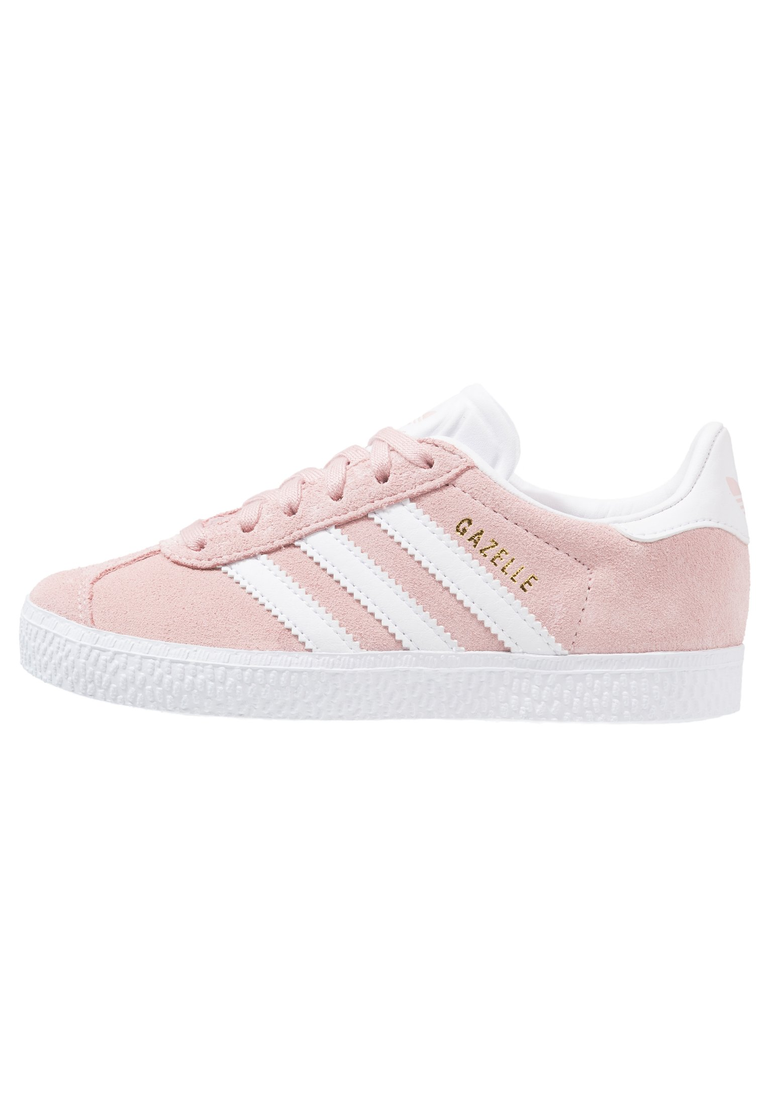 GAZELLE C - Baskets basses - icepink/footwear whitet/gold metallic
