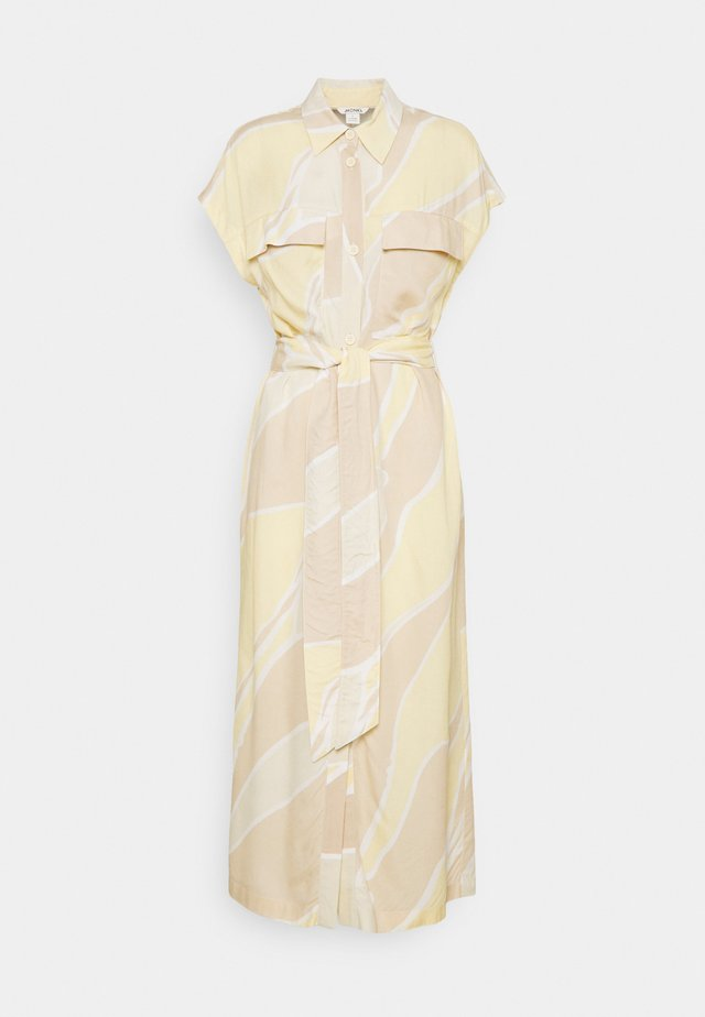 ARIANA DRESS - Robe chemise - yellow