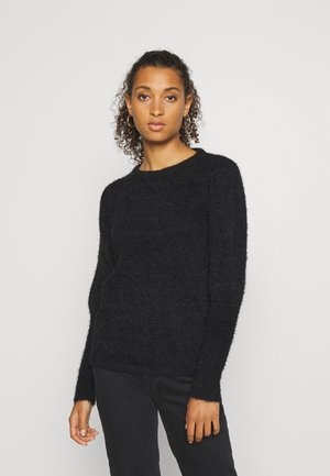VIFENOMA PUFF SHOULDER - Strickpullover - black