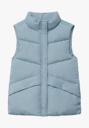 NEREA - Waistcoat - blauw