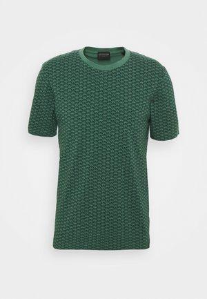 CLASSIC CREWNECK TEE - Printtipaita - dark green