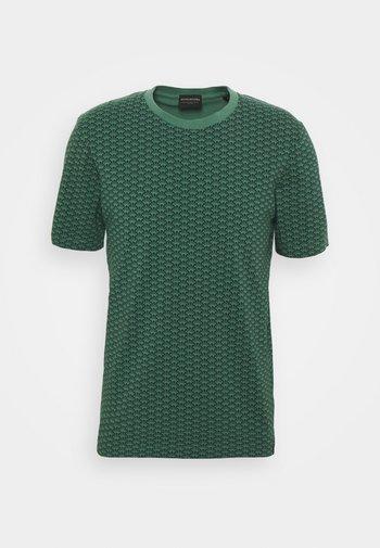 CLASSIC CREWNECK TEE - T-shirt imprimé - dark green