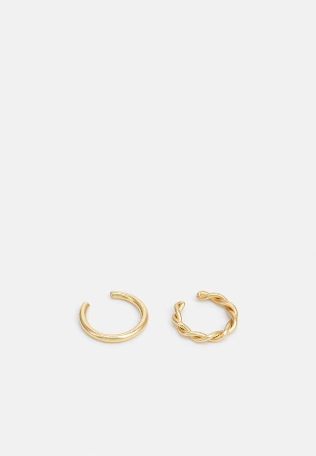 EARRINGS MARINA 2 PACK - Øreringe - gold-coloured