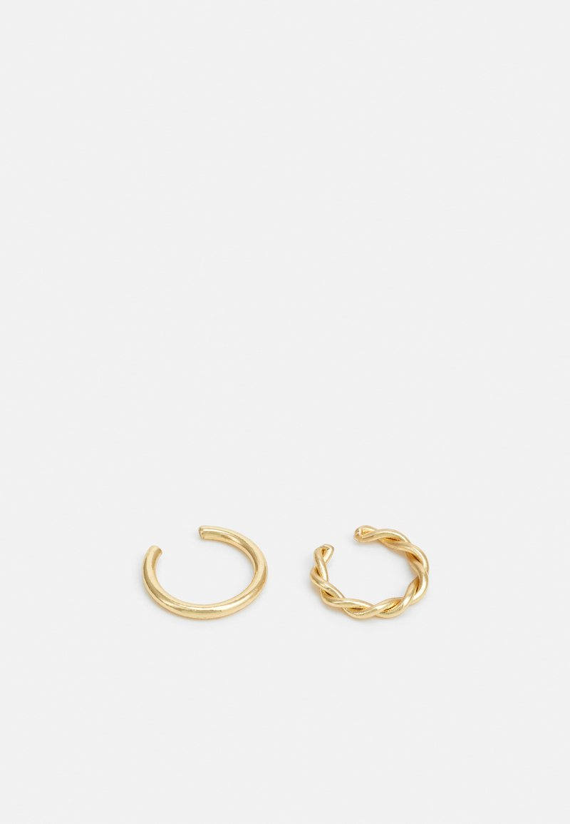 Pilgrim - EARRINGS MARINA 2 PACK - Øreringe - gold-coloured