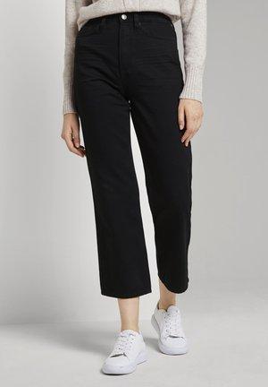 KATE STRAIGHT - Jeans Straight Leg - clean dark stone black denim