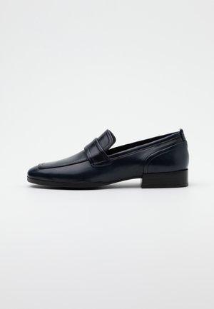 Scarpe senza lacci - poncho blue navy
