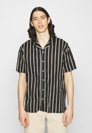 JJGREG STRIPE SHIRT - Shirt - black