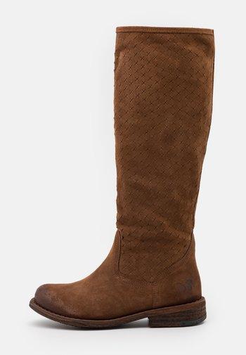 GREDO - Vysoká obuv - marvin/picado brown