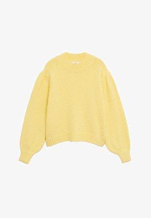 CIELI - Maglione - giallo pastello