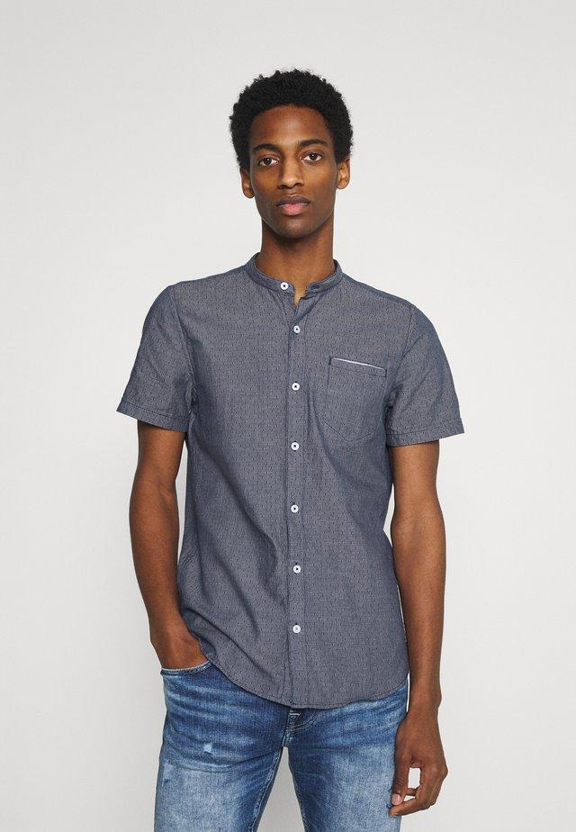 Košile - blue dobby