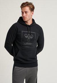 Hummel - HMLISAM - Luvtröja - black - 0