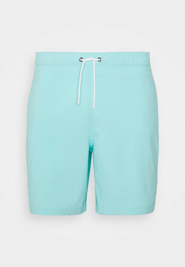 Swimming shorts - solid aqua