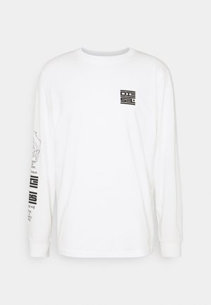 T-JUST-LS-N61 T-SHIRT UNISEX - Long sleeved top - white