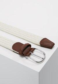 Anderson's - BELT - Braided belt - off white - 2