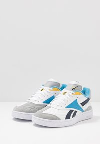 Reebok Classic - CLUB C RC 1.0 LIGHT TENNIS STYLE SHOES - Trainers - white/true grey/collegiate navy