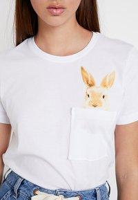 Even&Odd - Print T-shirt - white - 5
