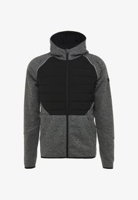 FIRST - ALLEN HOOD ZIP JACKET - Mikina na zip - medium grey melange - 4