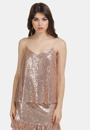 Blouse - rosa gold